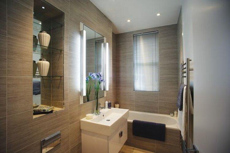 comment éclairer une petite salle de bain